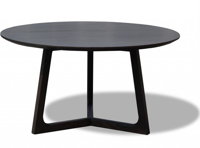 Dining Tables: Outstanding Black Round Dining Table Black Dinette In Caira Black Round Dining Tables (View 6 of 25)