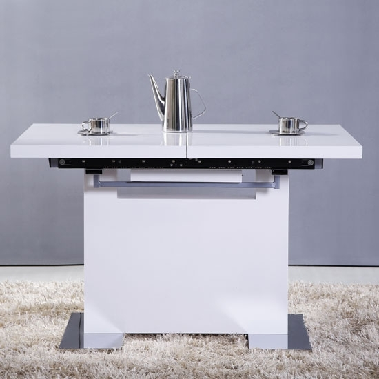 Dining Tables | Product Categories | Home Goods Within Small White Extending Dining Tables (Image 9 of 25)