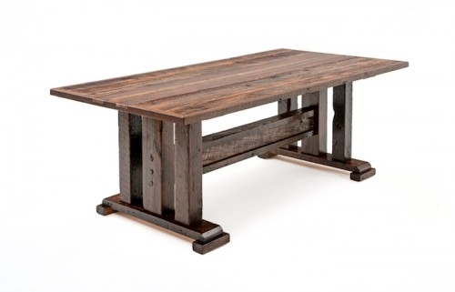 Dining Tables | Rustic Dining Tables | Barnwood Dining Tables Intended For Rustic Dining Tables (Image 5 of 25)