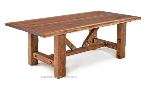 Dining Tables | Rustic Dining Tables | Barnwood Dining Tables Regarding Rustic Dining Tables (Image 6 of 25)