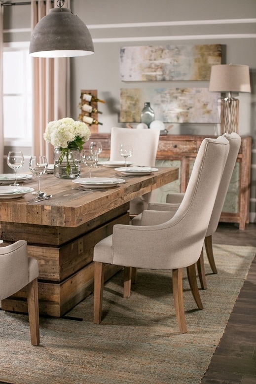 Dining Tables: Stunning Living Spaces Dining Table Set Living Spaces For Macie Round Dining Tables (Image 8 of 25)