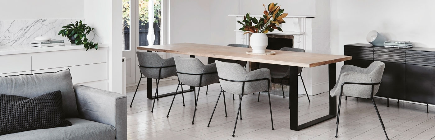 Dining Tables – Timber, Glass, Concrete & Aluminium – Globewest Pertaining To Perth Glass Dining Tables (Image 6 of 25)