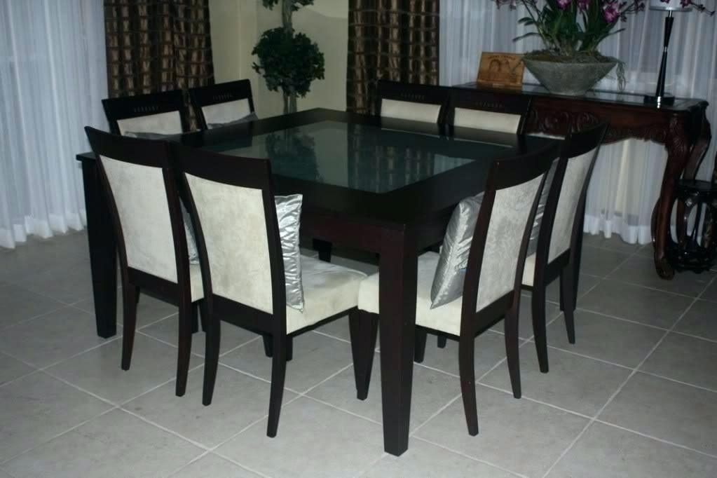Dining Tables With 8 Chairs Square Table Amusing Chair Person Room Pertaining To Dining Tables And 8 Chairs For Sale (Image 20 of 25)