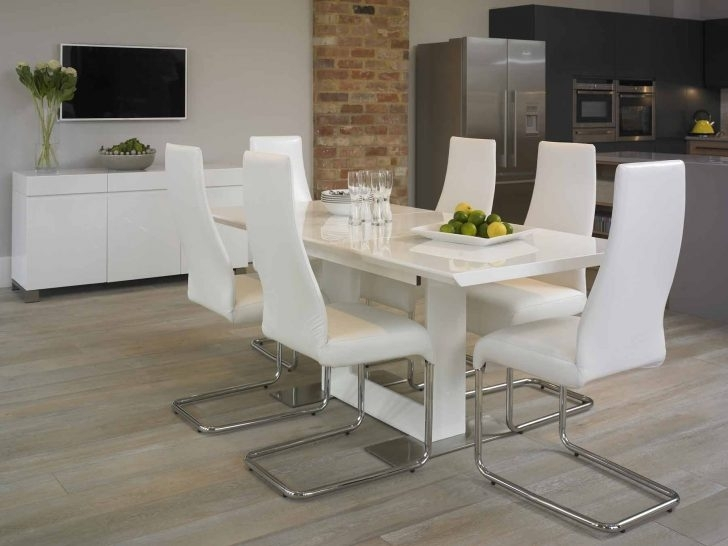 Dining: White Dining Room Suites With Regard To White Dining Suites (Image 13 of 25)