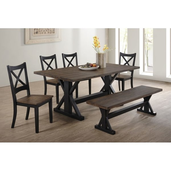 Dinning Room. 6 Piece Dining Room Sets - Home Design 2019 pertaining to Patterson 6 Piece Dining Sets