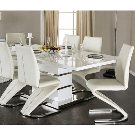 Dinning Tables In Chrome Dining Tables (Image 11 of 25)