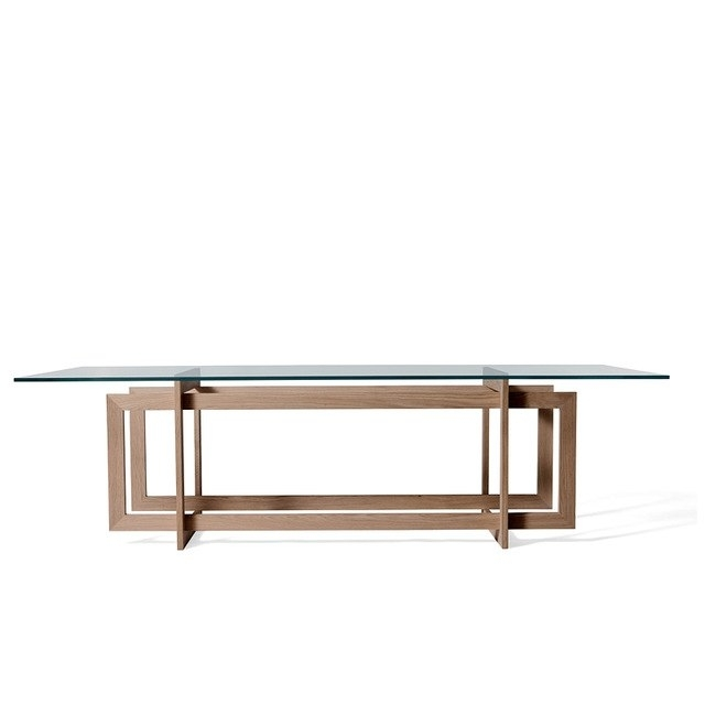 Direct Modern Minimalist 6 Seater Glass Dining Table Sets All Solid In 6 Seater Glass Dining Table Sets (Image 13 of 25)