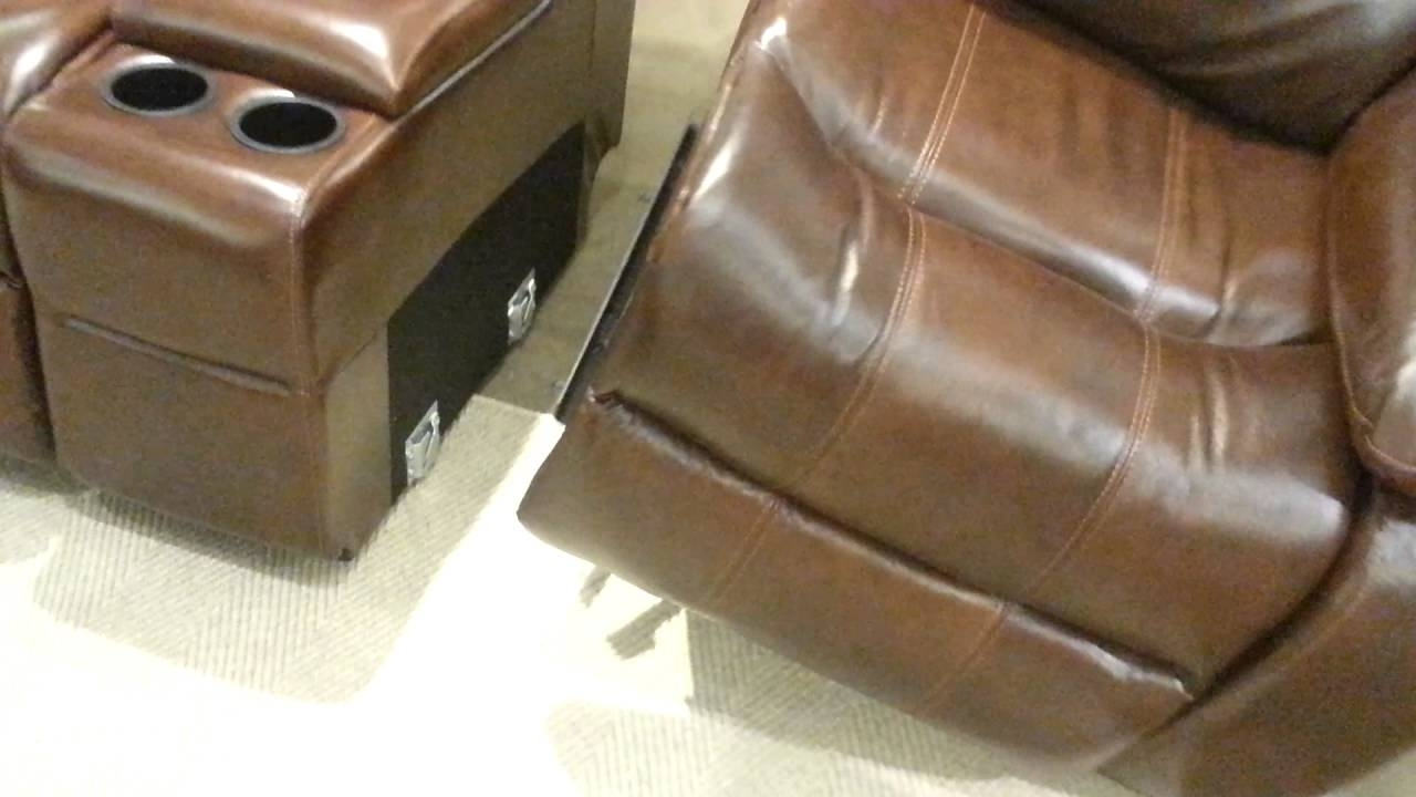 Disconnecting A Sectional – Youtube Regarding Norfolk Grey 6 Piece Sectionals (Image 7 of 25)