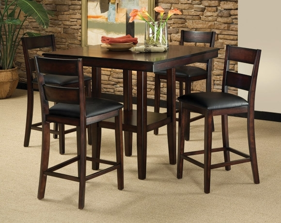 Discount Dining Room Sets & Kitchen Tables | American Freight Pertaining To Valencia 5 Piece Counter Sets With Counterstool (View 5 of 25)