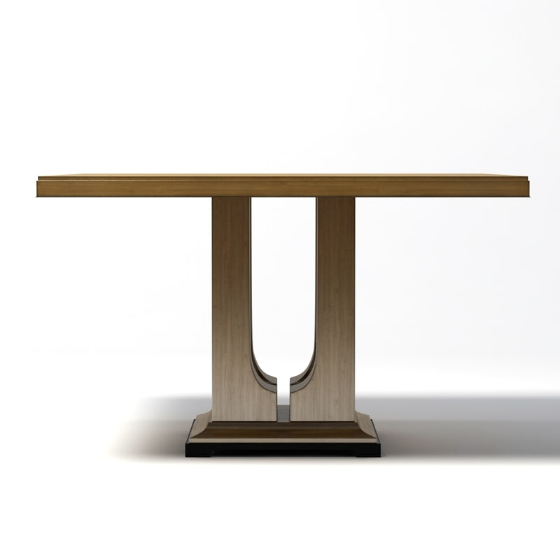 Donghia – Laurent Dining Table With Laurent Rectangle Dining Tables (Image 6 of 25)