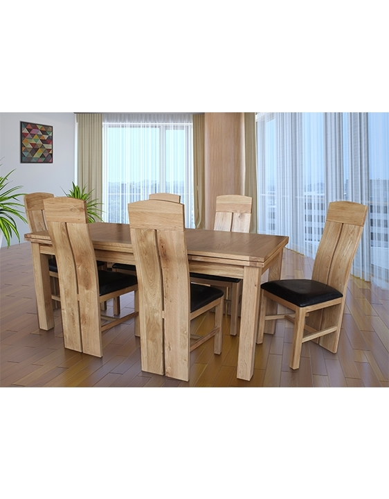 Doris Dining Set Of 7 With Portland 2200 Table And 6 Chairs | Trithi Within Portland 78 Inch Dining Tables (Image 8 of 25)