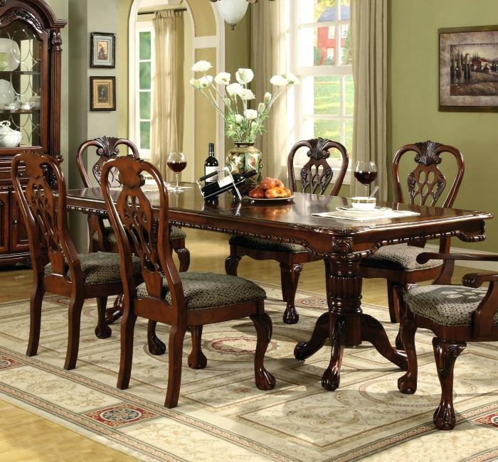 Double Pedestal Dining Table Diy Home Brands Silo – Ansoftware Inside Magnolia Home Double Pedestal Dining Tables (Image 5 of 25)