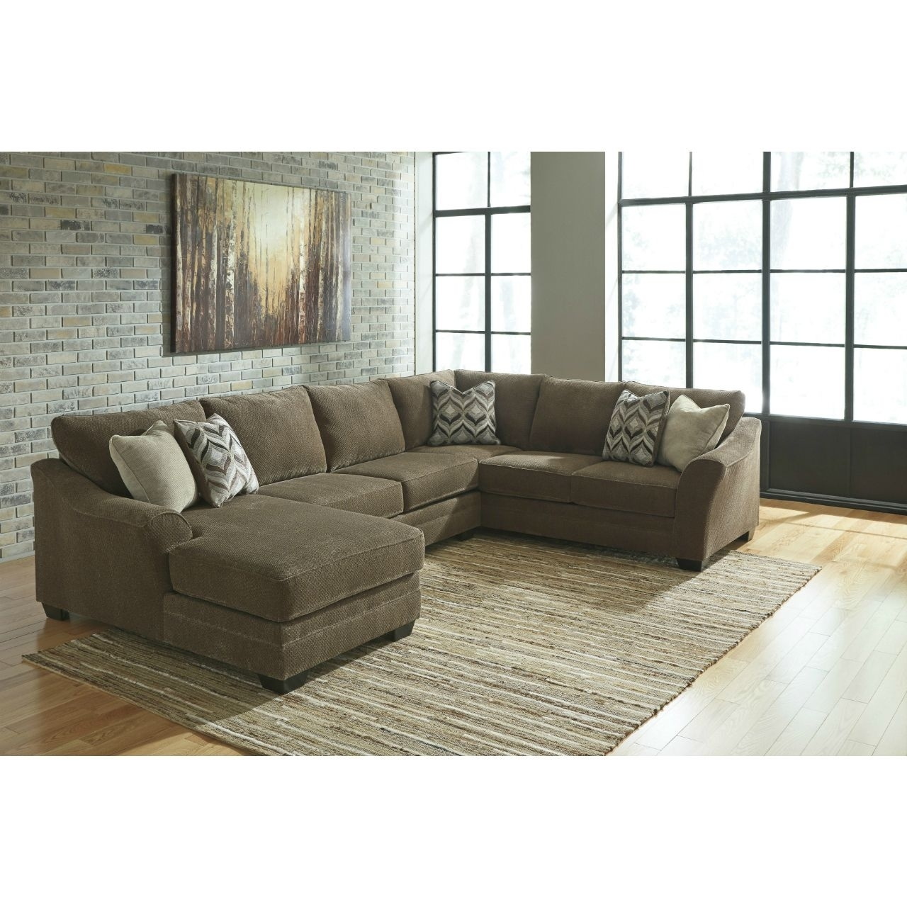 Douglas 3 Piece Sectional | For The Home | Pinterest | Room, Living Inside Benton 4 Piece Sectionals (Image 10 of 25)