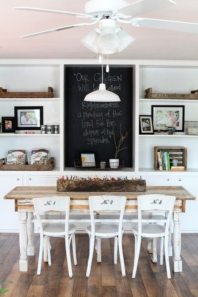 Dressing Up Dining Chairs {For Everyday Use} | Kitchen | Pinterest With Regard To Magnolia Home Array Dining Tables By Joanna Gaines (View 16 of 25)