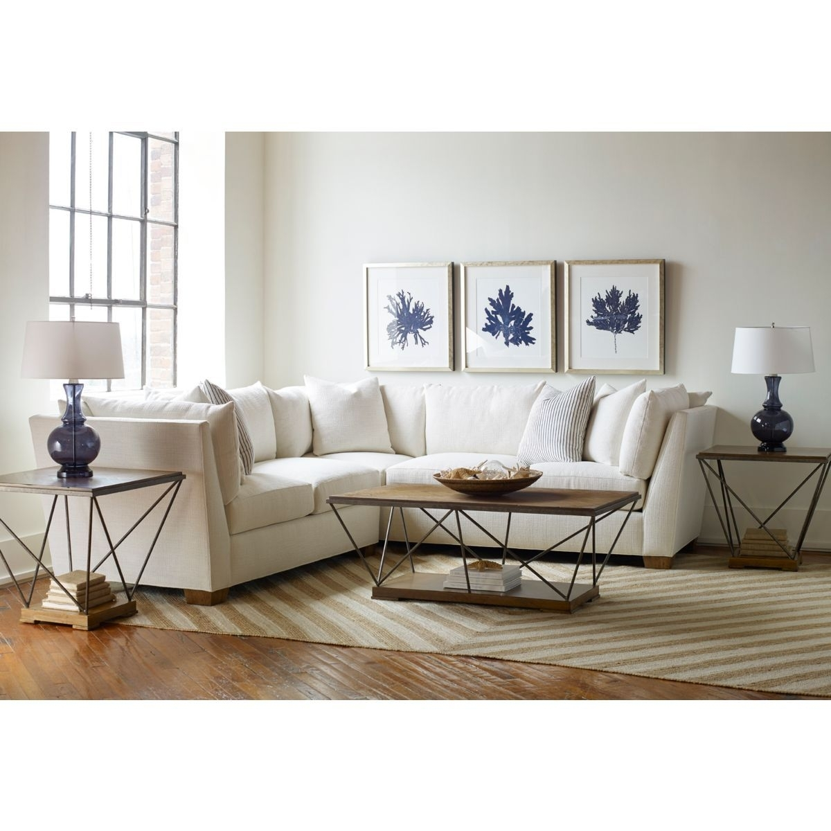 Drexel Heritage Burton Sectional | Furniture | Pinterest | House Inside Burton Leather 3 Piece Sectionals With Ottoman (View 11 of 25)