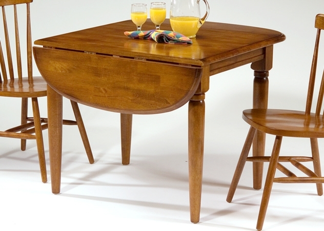Drop Leaf Extendable Dining Table : Modern Kitchen Furniture Photos Regarding Drop Leaf Extendable Dining Tables (Image 9 of 25)