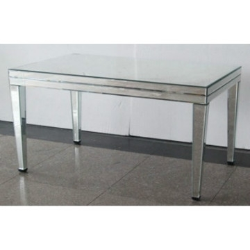 Dt 1008, China Long Glass Mirrored Dining Table, Mirror Dining Room Inside Mirror Glass Dining Tables (Image 7 of 25)