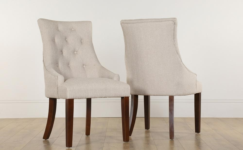 Featured Image of Button Back Dining Chairs