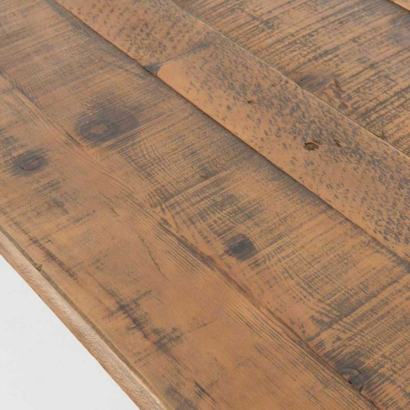 Durham Dining Table | Industrial Home For 87 Inch Dining Tables (Image 7 of 25)