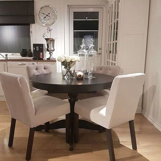♡ ᒪOᑌIᔕE ♡ | Home! | Pinterest | Dining, Dining Room And Room Within Small Dining Tables And Chairs (View 13 of 25)