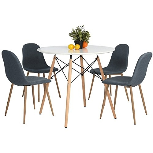 Eames Kitchen Dining Table Vogue Carpenter Round Coffee Table White For Vogue Dining Tables (Image 5 of 25)