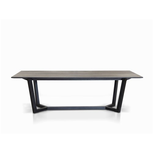 Eaton 2100 Black Dining Table | James Lane Furniture – Within Black Dining Tables (Image 14 of 25)