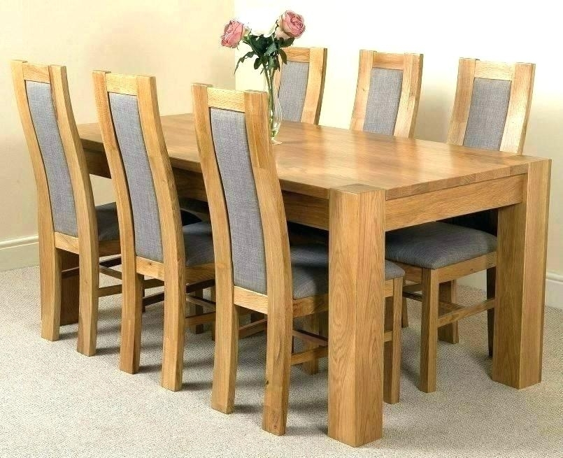 Ebay Dining Chairs 6 Dining Tables And Chairs Ebay Uk Dining Table 6 Within Oak Dining Tables With 6 Chairs (Image 8 of 25)