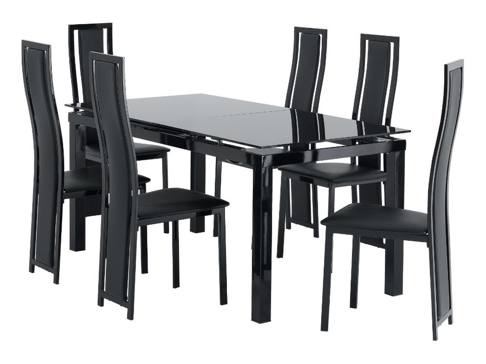 Ebay Dining Table 6 Chairs Gorgeous Dining Table And Six White regarding Dining Tables and Six Chairs