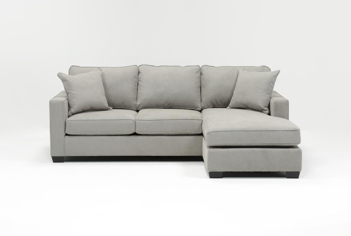 Featured Image of Egan Ii Cement Sofa Sectionals With Reversible Chaise