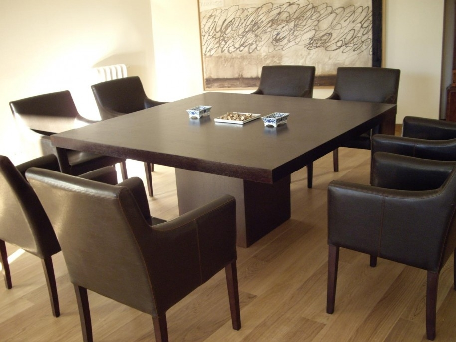 Eight Person Square Dining Table | Shapeyourminds With Dining Tables For Eight (Image 14 of 25)