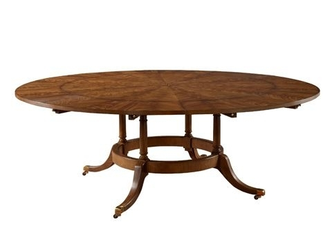 Ej Victor – 60' Round Dining Table With Six Perimeter Leaves – 9200 Intended For Victor Dining Tables (Image 5 of 25)