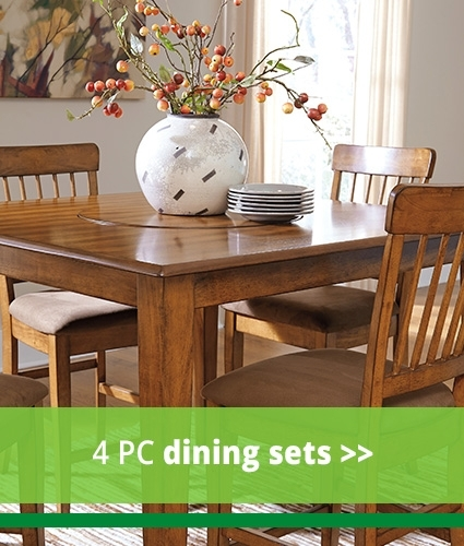 Elegant And Low Priced Dining Room Furniture At Our Hampton, Va Store In Craftsman 5 Piece Round Dining Sets With Uph Side Chairs (Image 8 of 25)