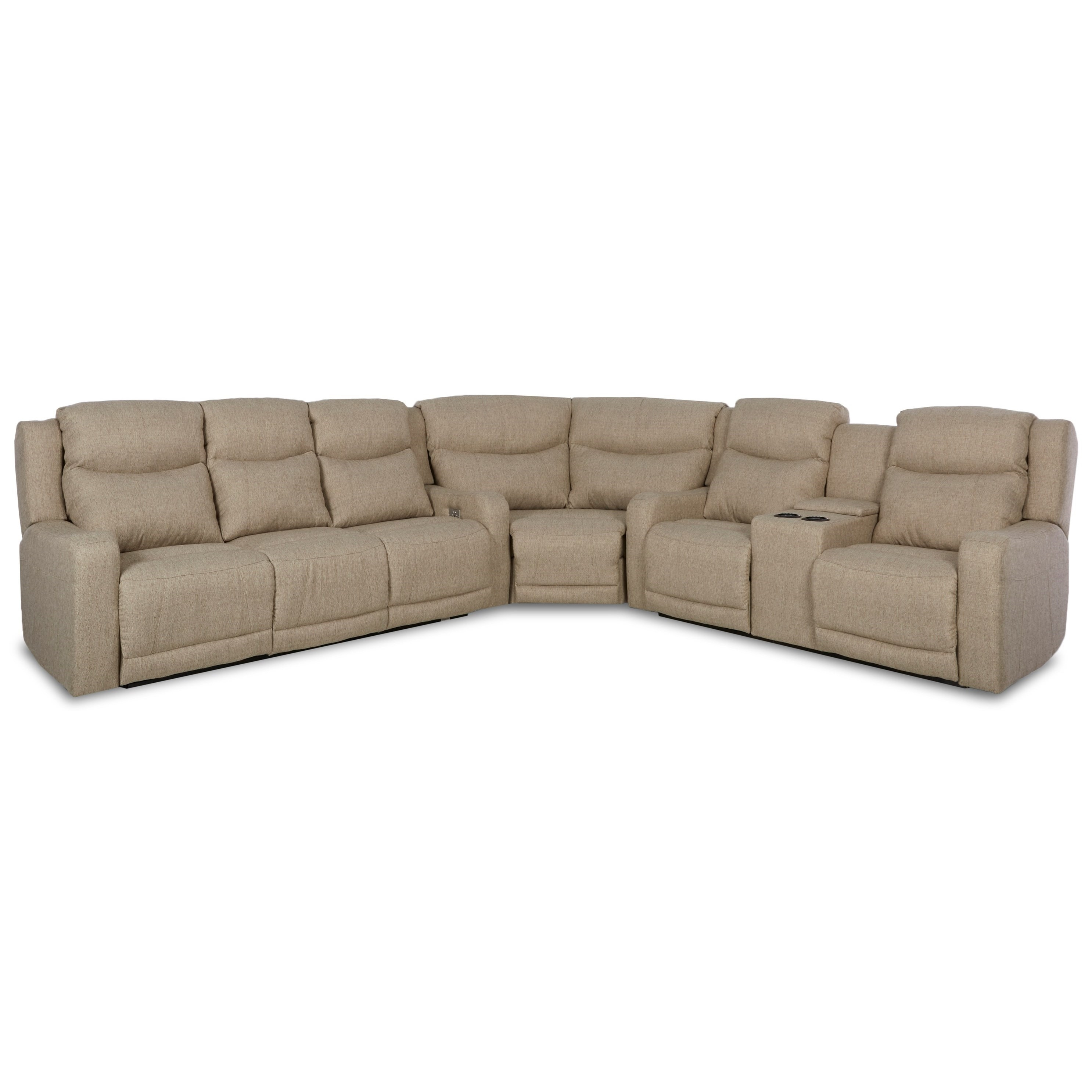 Elegant Electric Reclining Sectional Sofa – Sofas Within Clyde Grey Leather 3 Piece Power Reclining Sectionals With Pwr Hdrst & Usb (Image 5 of 25)