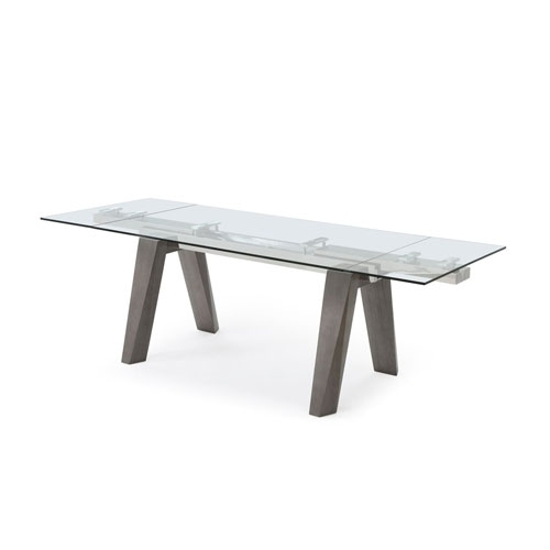 Elegant Oak Dining Table | Bellacor in Valencia 72 Inch Extension Trestle Dining Tables