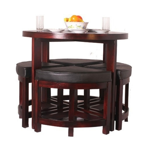 Eleganzze Compact Dining Table Set, Rs 19000 /set, Shreeji Inside Compact Dining Room Sets (Image 19 of 25)