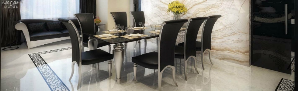 Elle Decor Tips: How To Get A Modern Dining Room Set Within Modern Dining Room Sets (View 24 of 25)