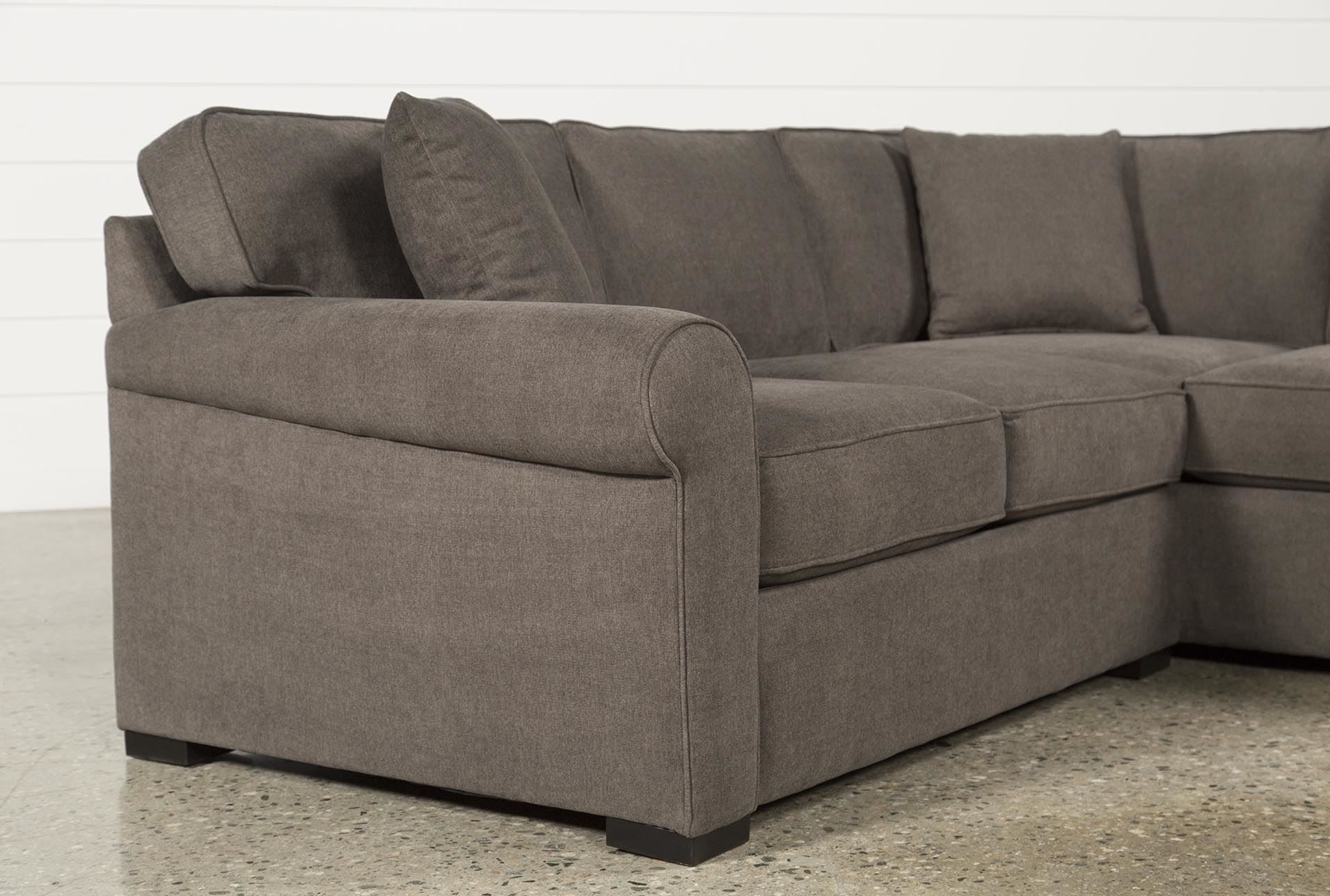 Elm Grande 2 Piece Sectional, Grey, Sofas | Room Inspiration Regarding Elm Grande Ii 2 Piece Sectionals (Image 14 of 25)