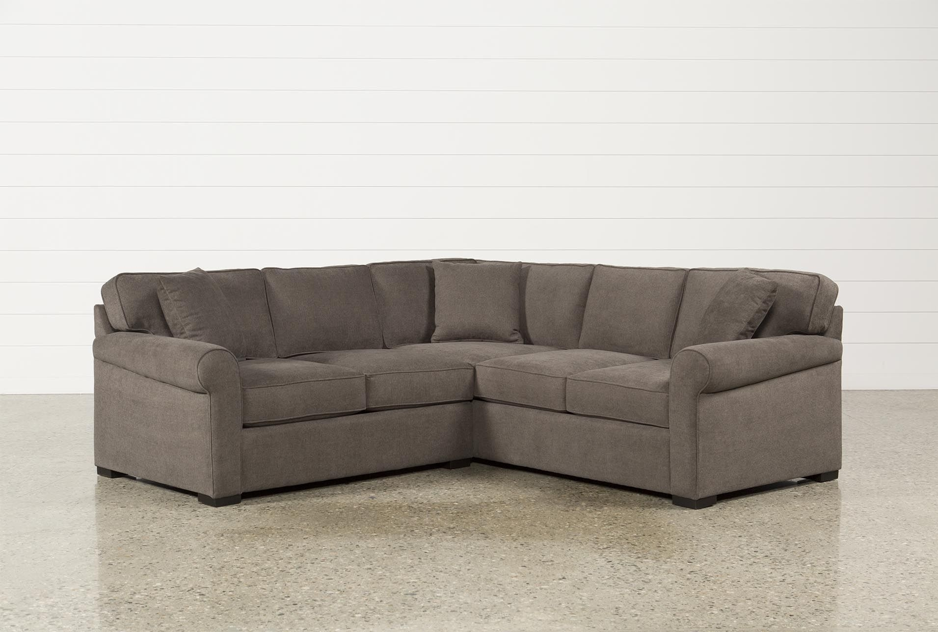 Elm Grande 2 Piece Sectional Throughout Turdur 2 Piece Sectionals With Laf Loveseat (Image 7 of 25)