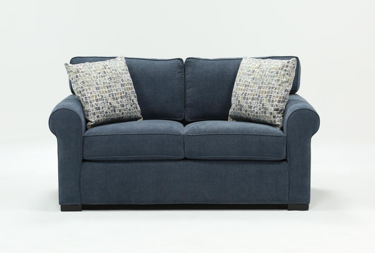 Elm Loveseat | Living Spaces Throughout Turdur 2 Piece Sectionals With Laf Loveseat (Image 8 of 25)