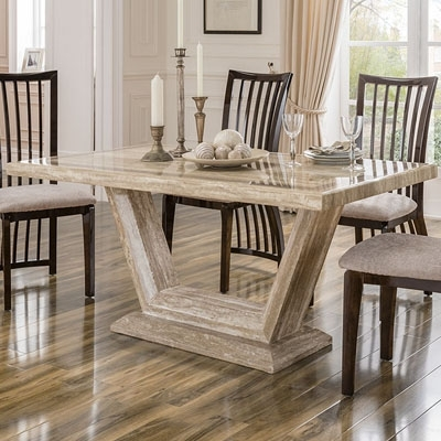 Elson Marble 180Cm Dining Table – Robson Furniture For 180Cm Dining Tables (Image 8 of 25)