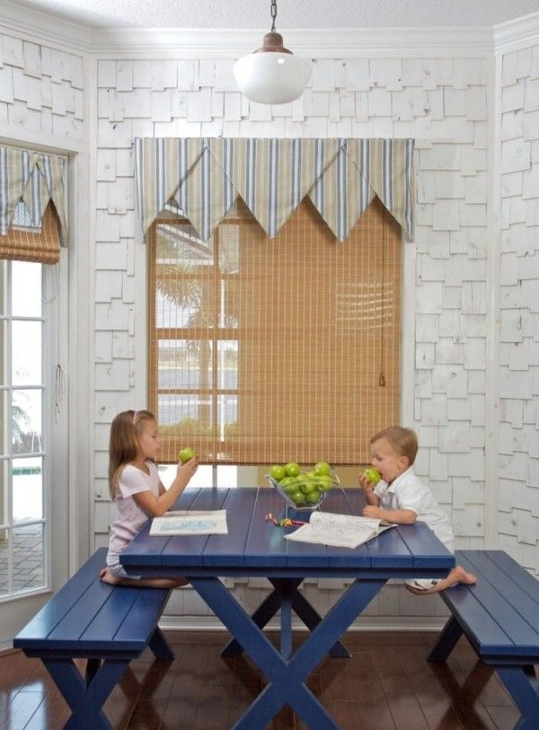 Embrace The Relaxed Style Of Indoor Picnic Tables | Diy | Pinterest In Indoor Picnic Style Dining Tables (Image 4 of 25)