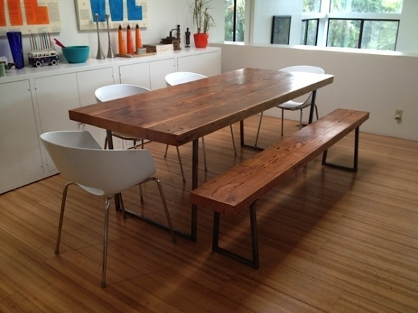 Embrace The Relaxed Style Of Indoor Picnic Tables Inside Dining Room For Indoor Picnic Style Dining Tables (Image 6 of 25)