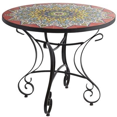 Emilio Mosaic Dining Table | Home Decor Inspiration! | Pinterest with regard to Mosaic Dining Tables for Sale