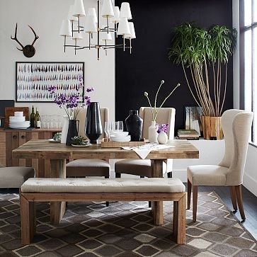 """Emmerson Dining Table, 72"""", Reclaimed Pine At West Elm – Dining For Natural Wood & Recycled Elm 87 Inch Dining Tables (Image 6 of 25)"""