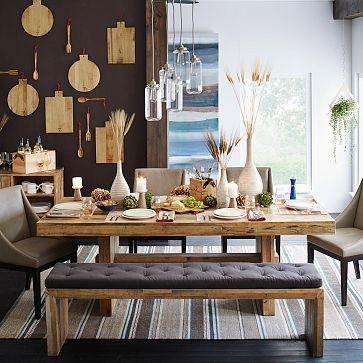 "Emmerson Dining Table, 72"", Reclaimed Pine At West Elm – Dining With Natural Wood & Recycled Elm 87 Inch Dining Tables (Image 8 of 25)"
