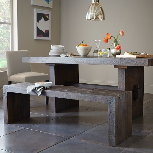Emmerson® Reclaimed Wood Dining Table – Natural | House And Home Pertaining To Natural Wood & Recycled Elm 87 Inch Dining Tables (Image 11 of 25)