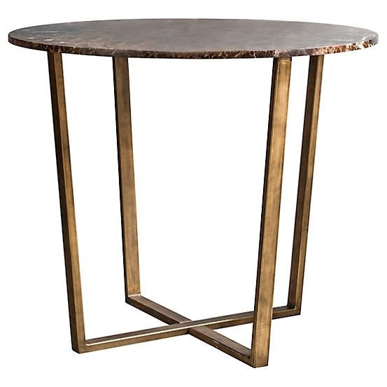 Emperor Round Dining Tablehudson Living | Look Again inside Hudson Round Dining Tables