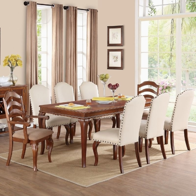 Encino Espresso Rectangular Dining Table – Dining Tables Ideas For Lindy Espresso Rectangle Dining Tables (View 21 of 25)
