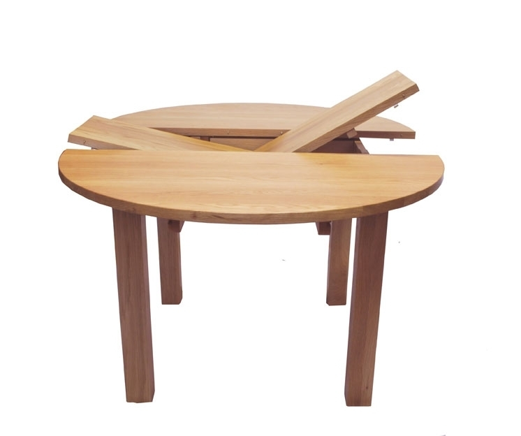 Endearing Round Extendable Dining Table Extendable Dining Table throughout Small Round Extending Dining Tables