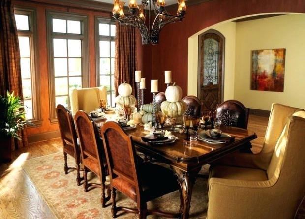 English Country Dining Room Dining Room Country Home English Country Inside Magnolia Home English Country Oval Dining Tables (Image 8 of 25)